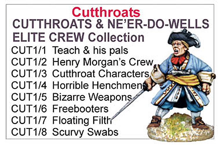 BCCUT001 - Cutthroats And Neer Do Wells Best Sellers Collection