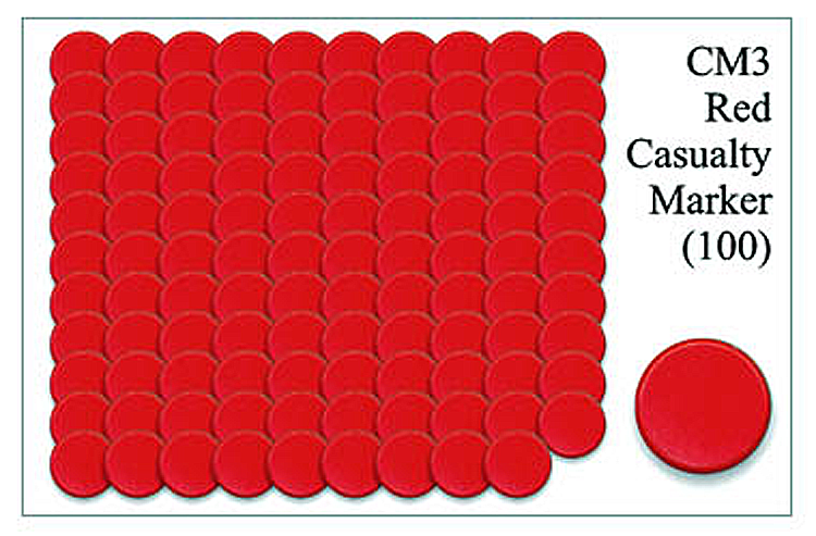 CM003 - Red Casualty Markers