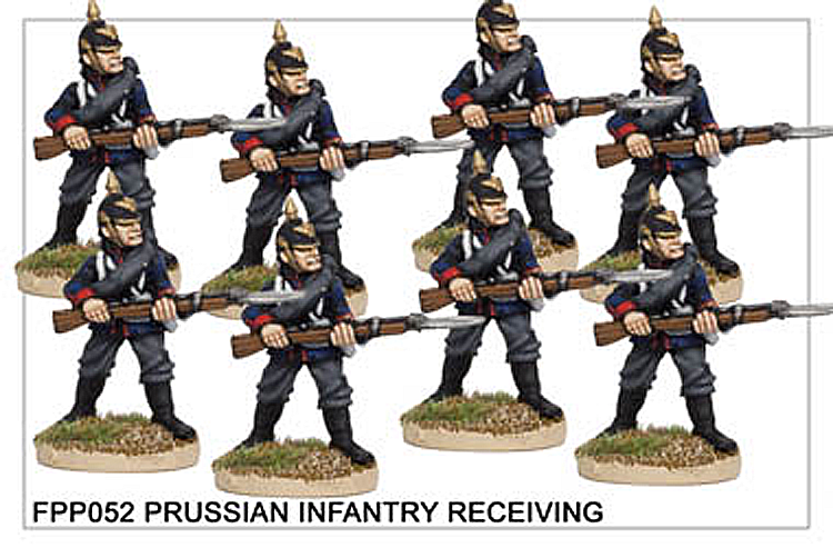 FPP052 Prussian Infantry in Helmets Defending