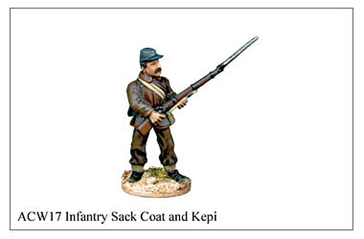 ACW017 - Infantry Sack Coat And Kepi