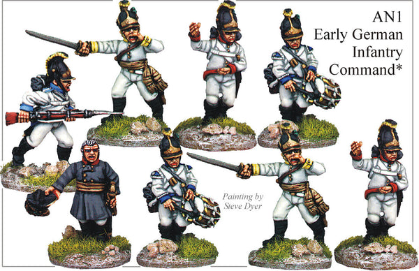 BCAN001 Austrian Napoleonic German Infantry Collection 1