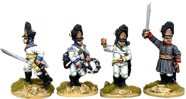 AN025 German Grenadiers 1805-15 Command