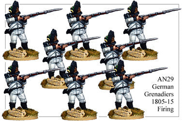 AN029 German Grenadiers 1805-15 Firing
