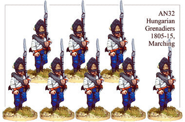 BCAN004 Napoleonic Austrian Grenadier Infantry Collection