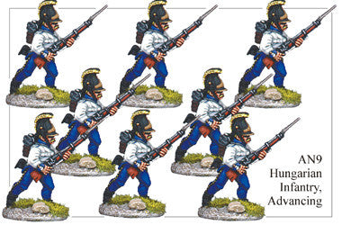 AN009 Hungarian Infantry Advancing