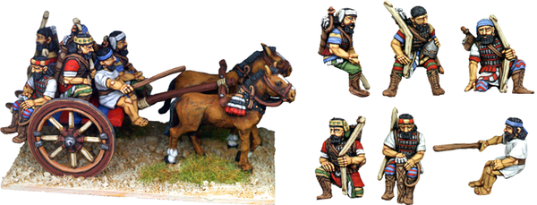 ASS030 - Mounted Infantry on Cart