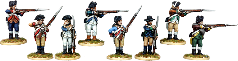 AWI013 - Continental Infantry Firing Line