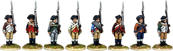 AWI014 - Continental Infantry Standing