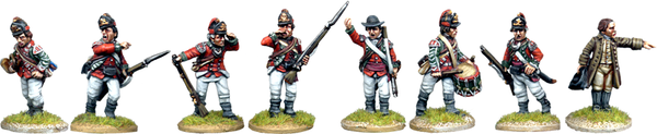 AWI042 - British 5th Foot Light Infantry Command