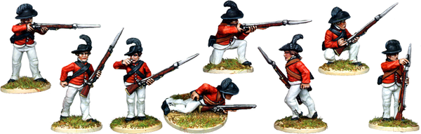AWI065 - British Light Infantry In Round Hats