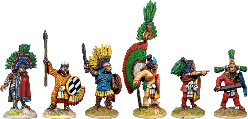 AZ011 - Emperor Moctezuma and Chieftains