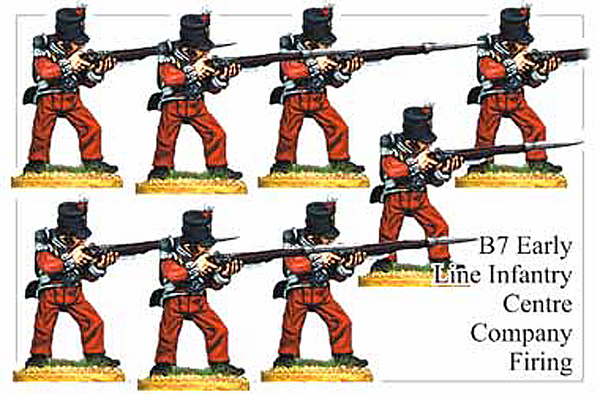 B007 Early Line Infantry Centre Company Firing