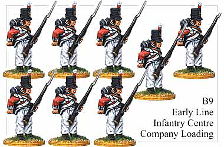 B009 Early Line Infantry Centre Company Loading