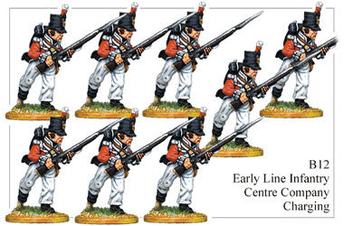 B012 Early Line Infantry Centre Company Charging