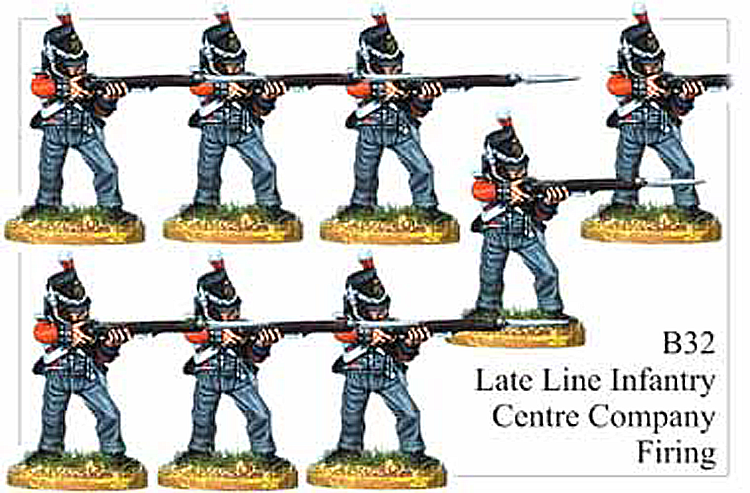 B032  Late Line Infantry Centre Company Firing