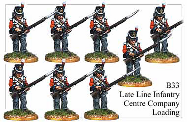 B033  Late Line Infantry Centre Company Loading