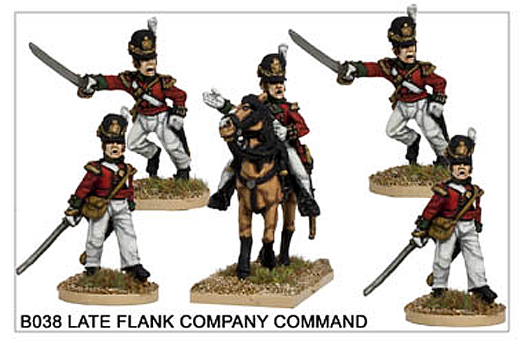 B038 Late Line Infantry Flank Company Command