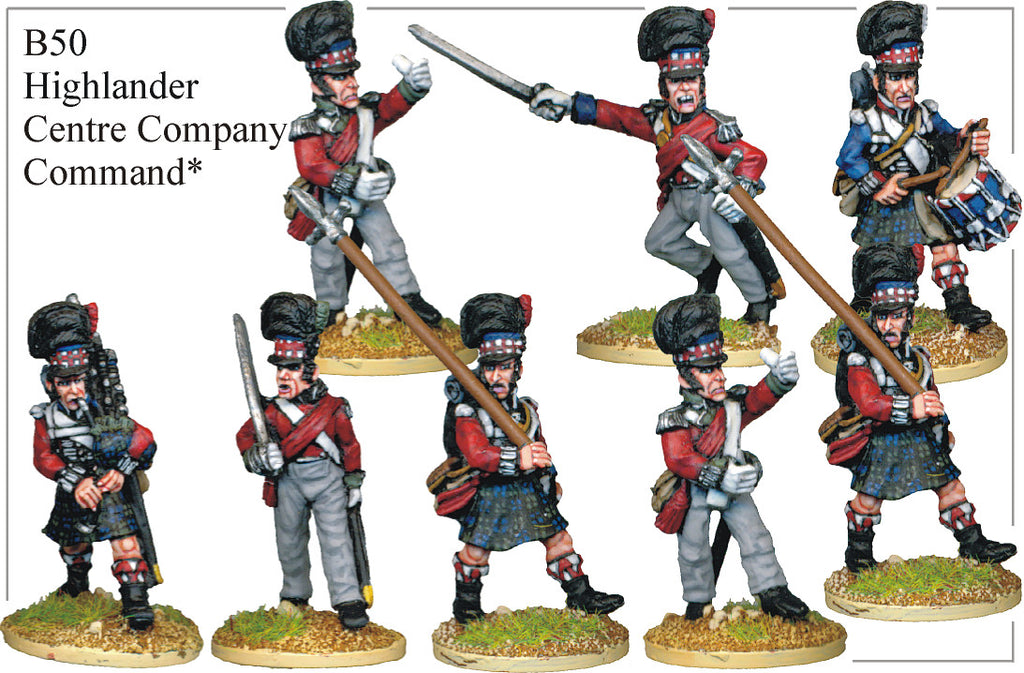 B050 Highlander Centre Company Command