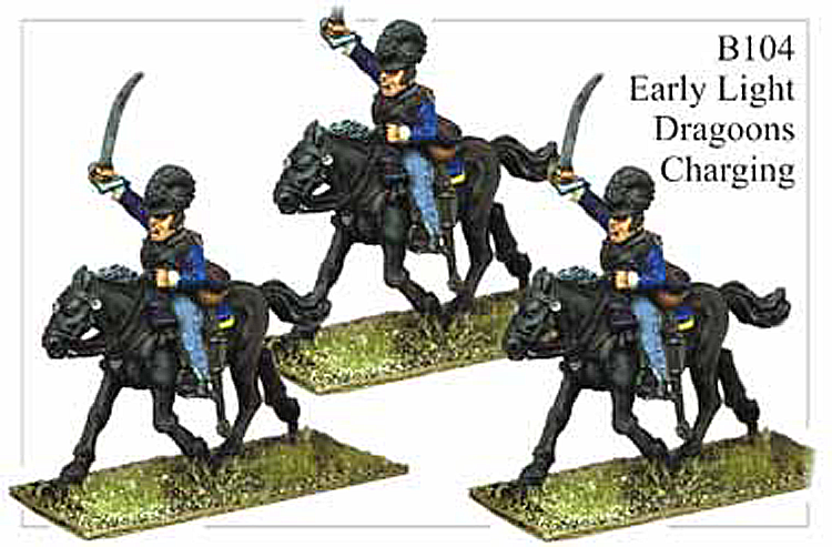 B104 Early Light Dragoons Charging