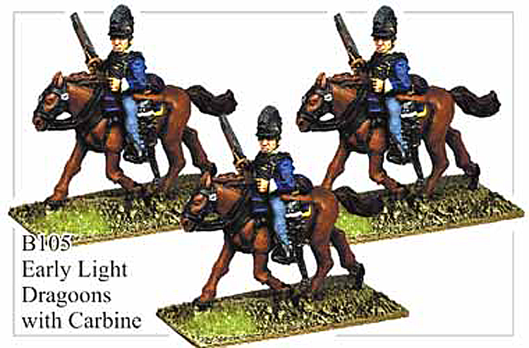 B105 Early Light Dragoons with Carbine