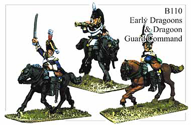 B110 Early Dragoons or Dragoon Guards Command