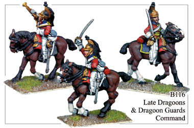 B116 Late Dragoons or Dragoon Guards Command