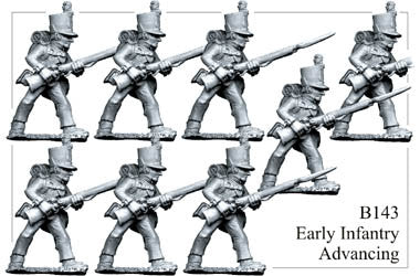 B143 Infantry Advancing