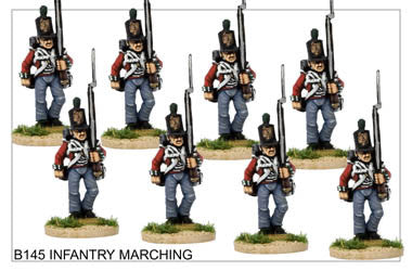 B145 Infantry Marching