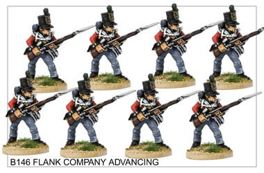 B146 Flank Company Advancing