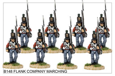 B148 Flank Company Marching