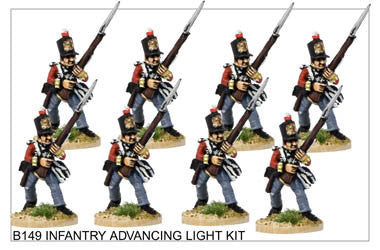 B149 Infantry in Light Kit Advancing