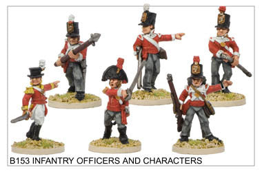 B153 Infantry Command and Characters