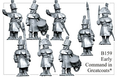 B159 Infantry in Greatcoats Command
