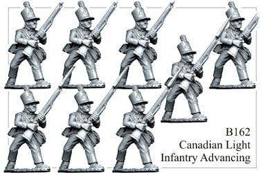 B162 Canadian Light Infantry Advancing