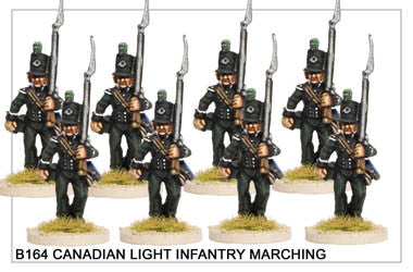 B164 Canadian Light Infantry Marching