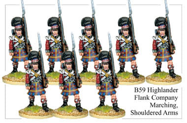 B059 Highlander Flank Company Marching