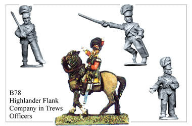 B078 Highlander Flank Company in Trews Officers