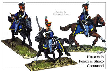 B093 Hussars in Peakless Shako Command