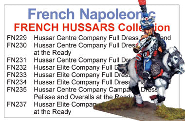 BCFN011 - Napoleonic French Hussar Collection