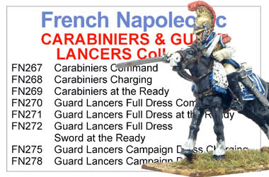 BCFN014 - Napoleonic French Imperial Guard Cavalry Collection