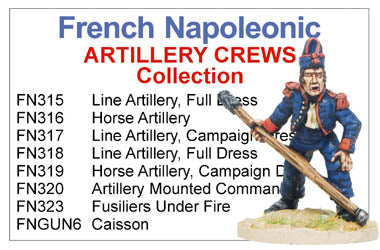 BCFN017 - Napoleonic French Artillery Crews Collection