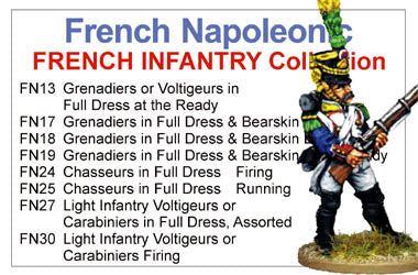 BCFN018 - French Napoleonic Infantry Collection