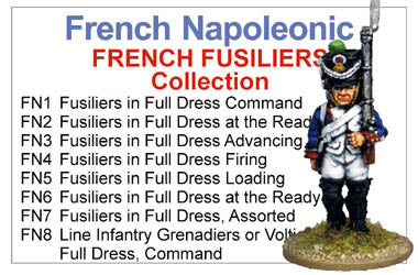 BCFN001 - Napoleonic French Infantry Fusiliers Collection