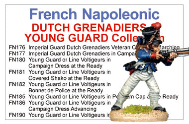 BCFN028 - French Napoleonic Dutch Grenadiers And Young Imperial Guard Collection