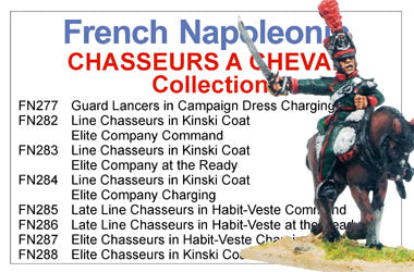 BCFN032 - French Napoleonic Chasseurs A Cheval Collection