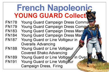 BCFN009 - Napoleonic French Young Guard Infantry Collection
