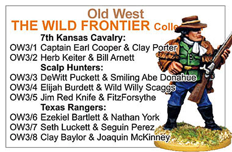 BCOW003 - Old West The Wild Frontier Collection