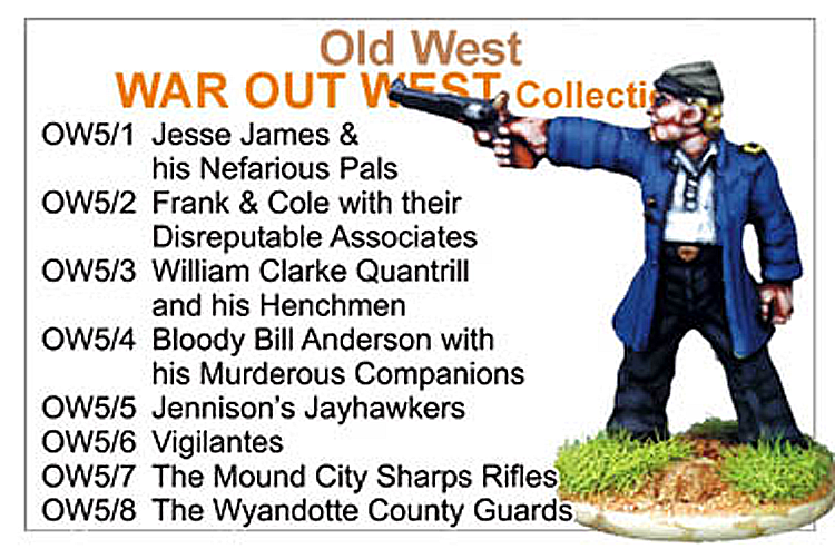 BCOW005 - Old West War Out West Collection