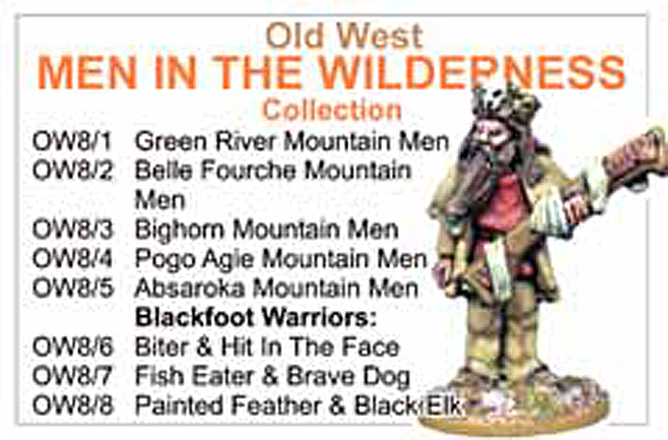 BCOW008 - Old West Men In The Wilderness Collection