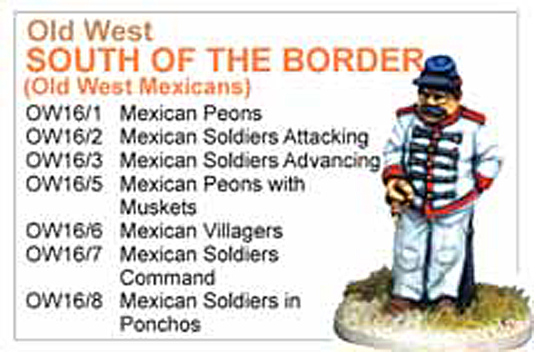 BCOW016 - Old West The Mexican Collection